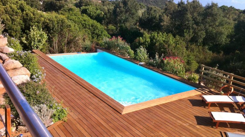location villa avec piscineporto-vecchio