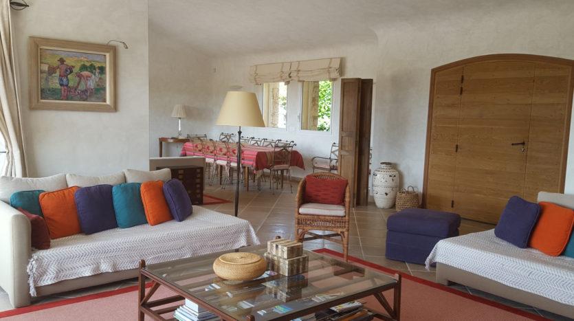 sejour location villa de luxe punta d'arasu bord de mer avec piscine sud corse