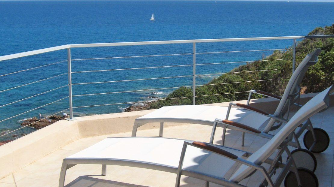 location villa luxe porto vecchio
