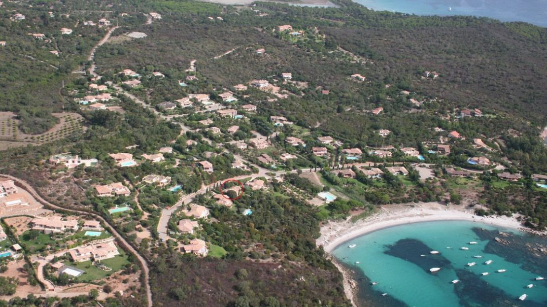 location-villa-porto-vecchio-plage sable blanc