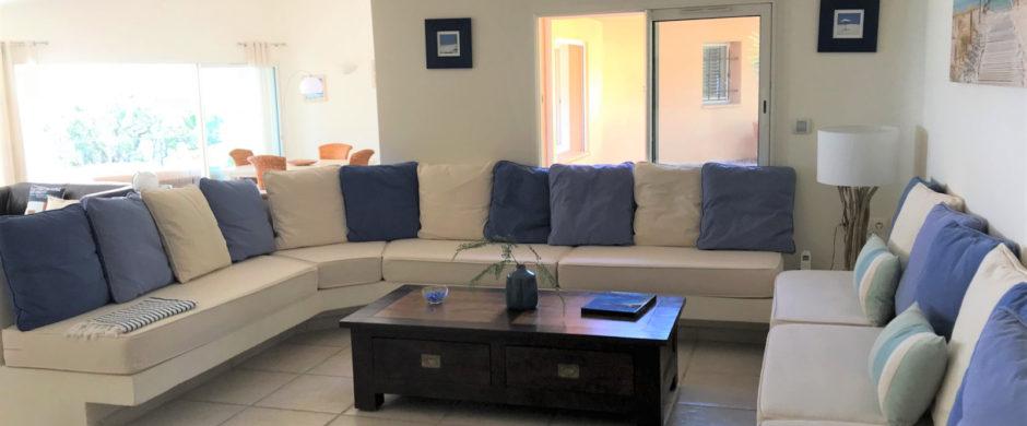Location villa crique privée domaine privé Punta d'Arasu