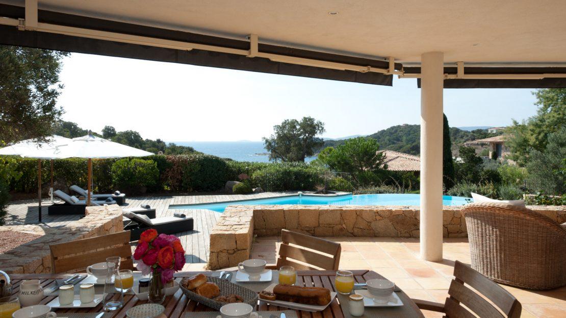 villa 5 chambres avec piscine vue mer