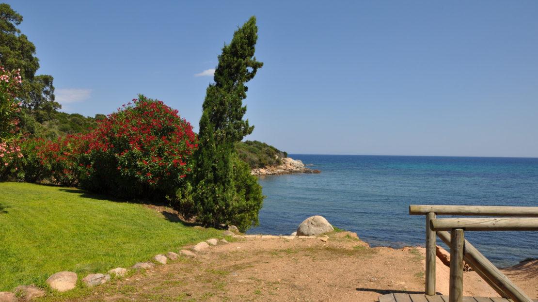 villa proche mer domaine privé de Punta d'Arasu