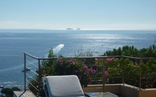 location villa de luxe piscine vue panoramique porto vecchio sud corse