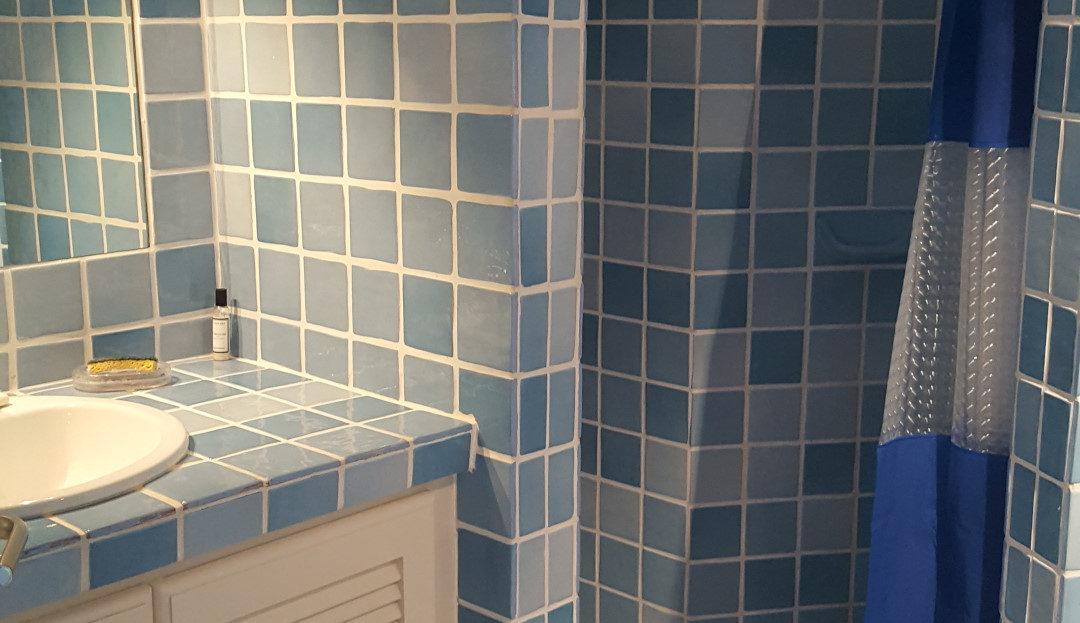 salle de bain location villa capicciola delta immobilier