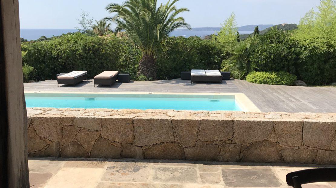 vente et location de villas de luxe vue mer et piscine domaine d'araso corse du sud