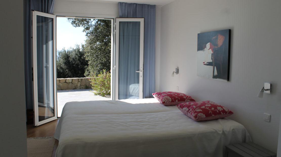 chambre villa vue panoramique delta immobilier porto vecchio