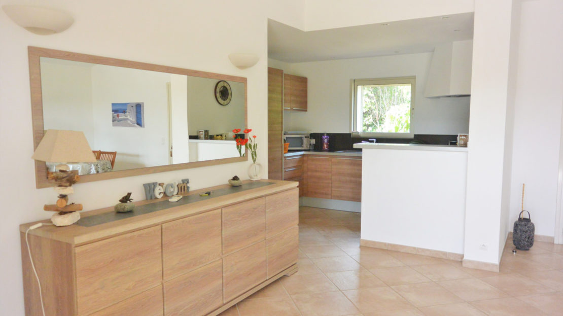 cuisine vente et location de villas de luxe à proximité de Fautea sud corse