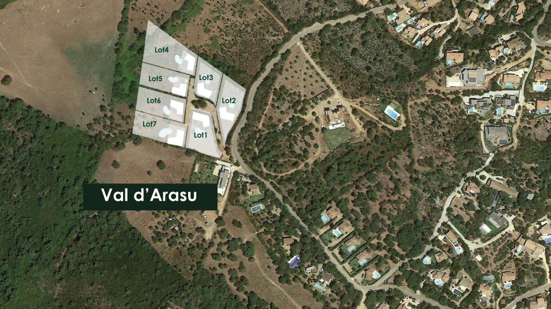 vente-terrains domaine d'araso corse du sud