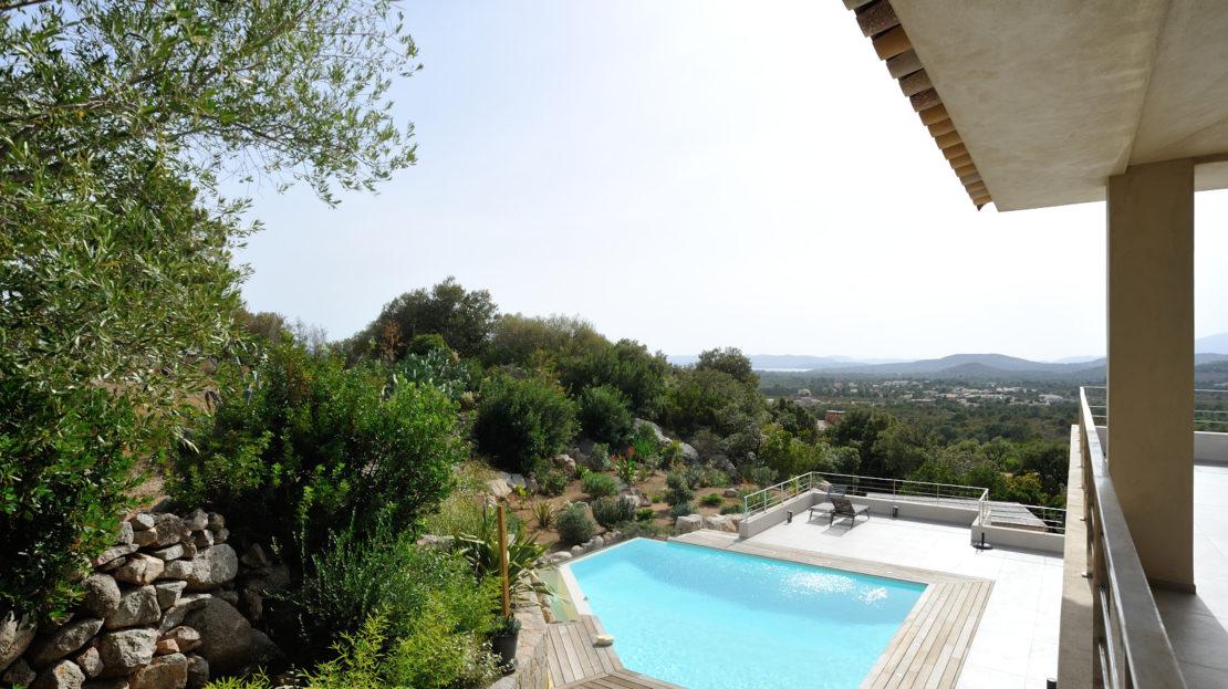 vente villa vue mer saint cyprien corse du sud