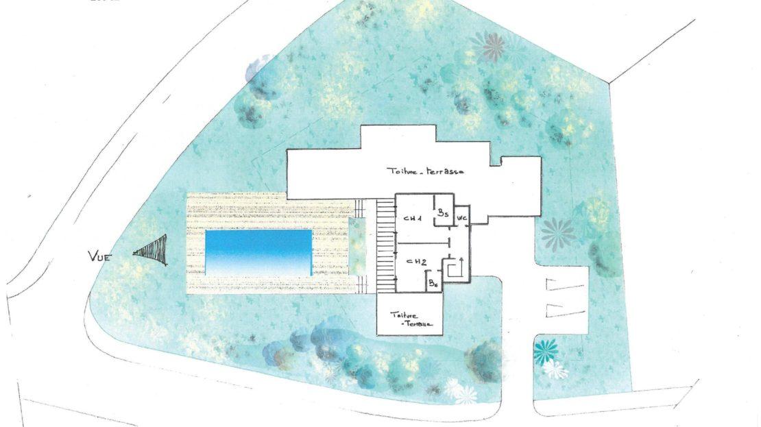 plan lotissement domaine d'araso