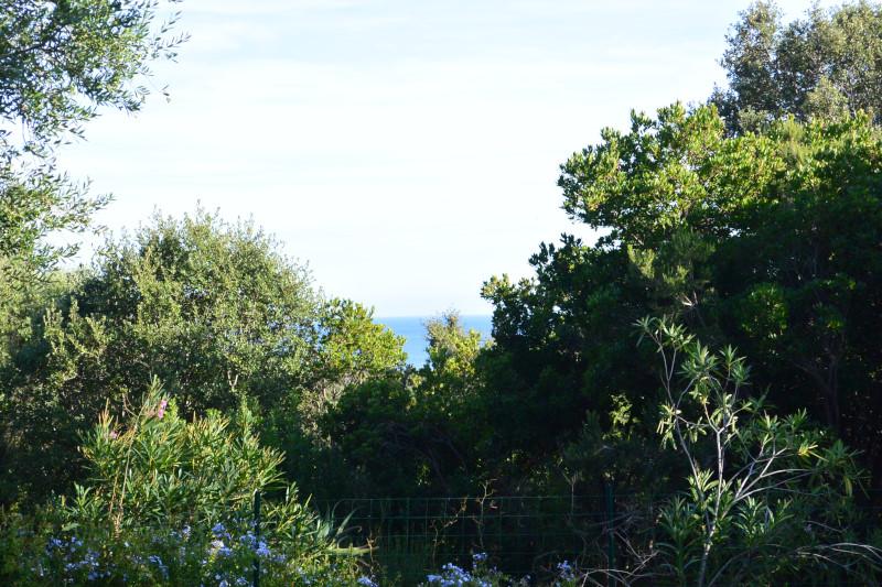 terrain vue mer pinarello porto vecchio