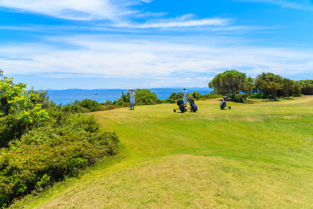 activités golf de sperone region de porto vecchio