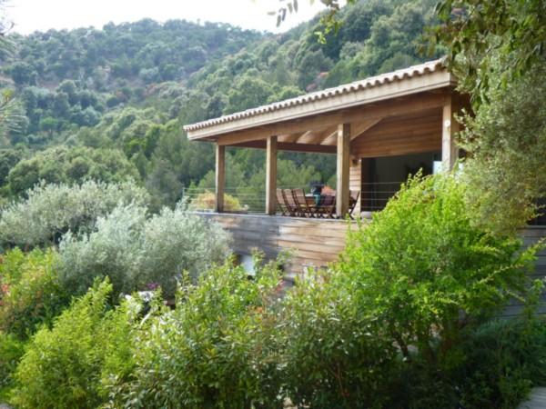 vente villa au cœur du maquis palombaggia