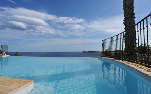 vente belle villa porto-vecchio accès mer